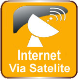 internet via-satelite rural